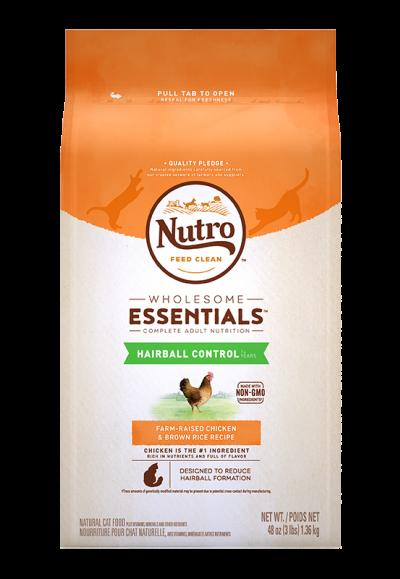 全護營養系列-成貓強效化毛配方(農場鮮雞+糙米)